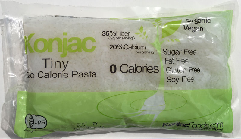 Konjac Tiny Pasta Front Package