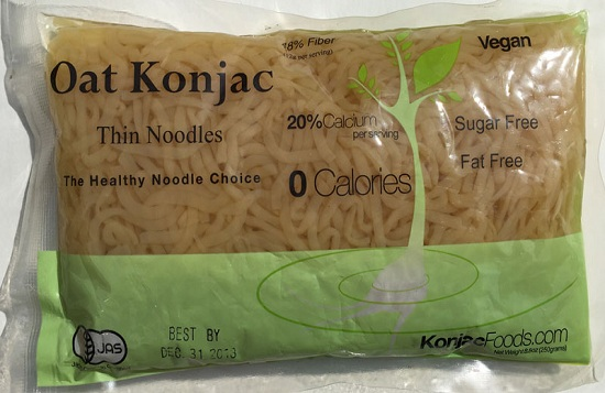 Konjac Oat Thin Noodles Product image